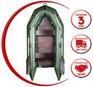 Надувная лодка Bark BT290S моторная надувная лодка Bark килевая с жестким днищем, трехместная