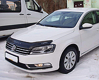 Дефлектор капота (мухобойка) Volkswagen passat b7 (фольксваген пассат б7) 2010г+