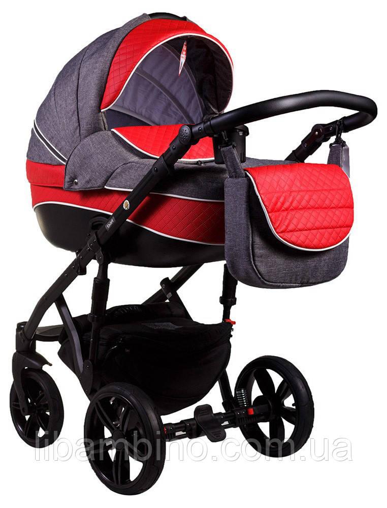 Дитяча універсальна коляска 2 в 1 Adamex Prince X-18