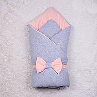 Демисезонный конверт-одеяло Mini, (персик), фото 1