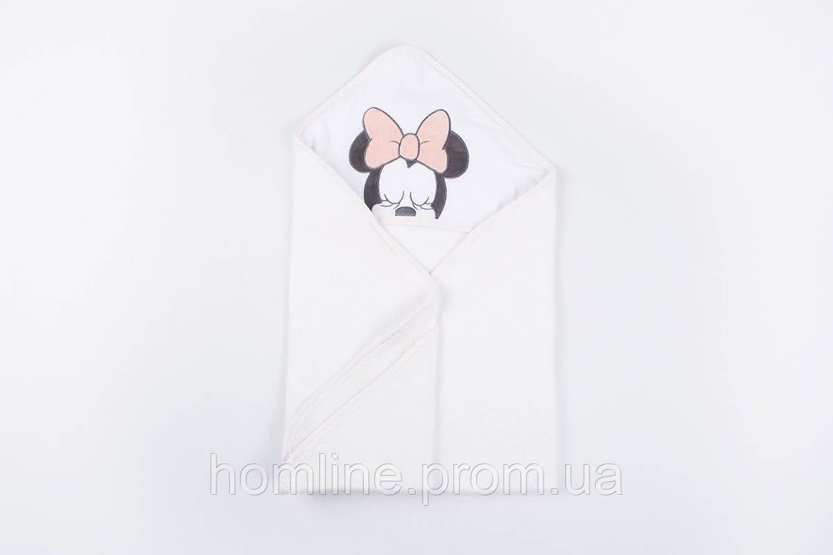 Уголок для купания Lotus Minnie 01 полотенце-уголок с капюшоном