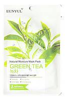 Увлажняющая Тканевая маска с зеленым чаем EUNYUL Natural Moisture Mask Pack-Green Tea - 25 мл (8809435402111)