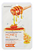 Увлажняющая тканевая маска с медом EUNYUL Natural Moisture Mask Pack-Honey - 25 мл, (art.1391)