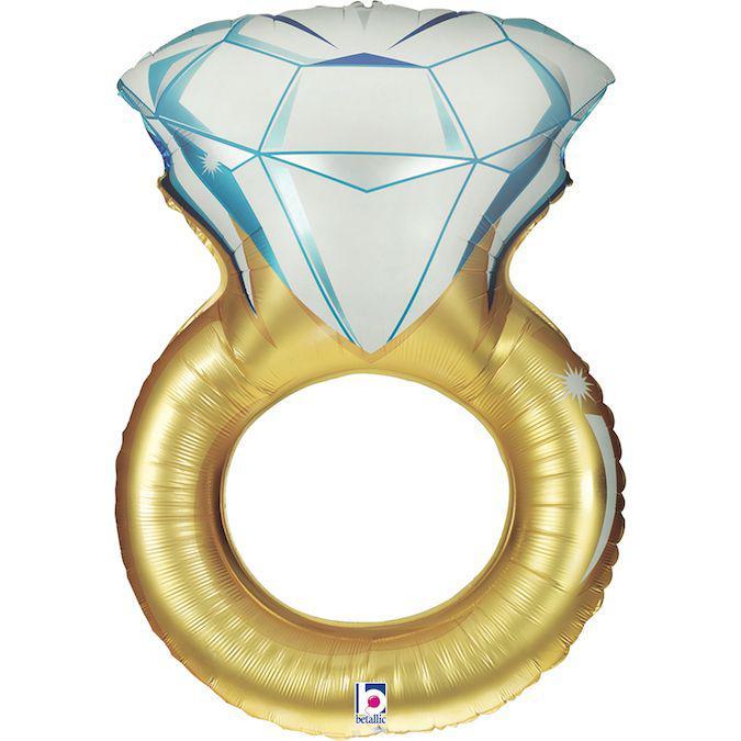 Фол шар фигура Обручальное кольцо Золото (Грабо)