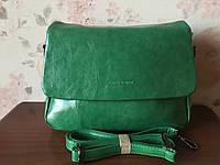 Городская сумка через плечо женская зеленого цвета Pretty Woman Одесса 7 км, фото 1