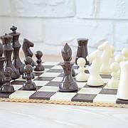 "Набор шоколадных фигур ""Шахматы"" классическое сырье. Размер: 280х422х105мм, вес 900г"