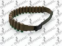 Ремень - бандольера дляпатронов12 к, 20 патронов