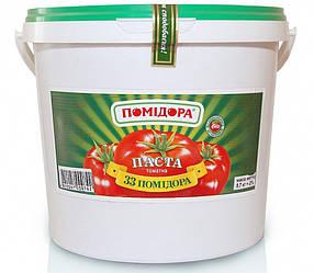 Кетчуп 33 помідора лагідний  5 кг відро