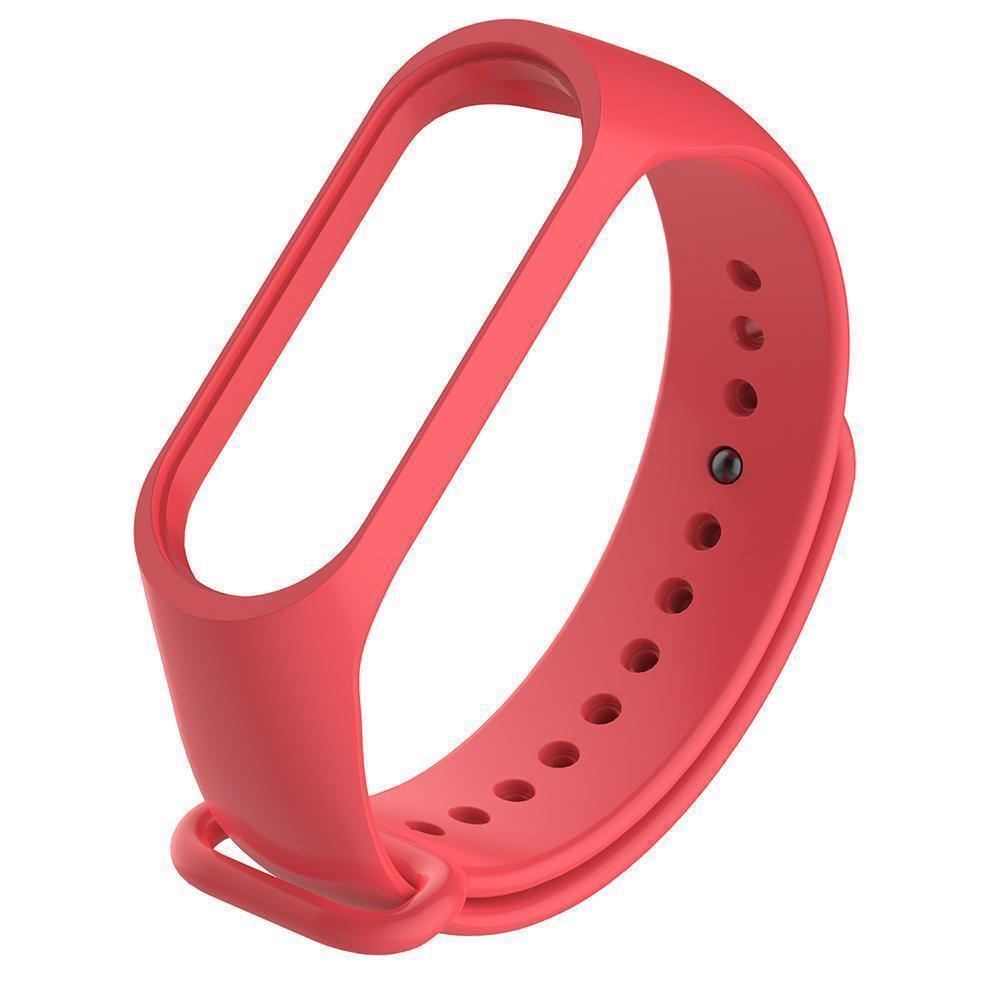 Ремешок для фитнес браслета Xiaomi Mi Band 3 и 4 Red