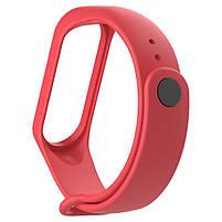 Ремешок для фитнес браслета Xiaomi Mi Band 3 и 4 Red, фото 2