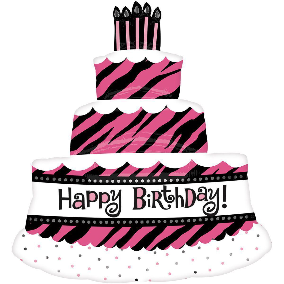 """Фольгований куля Б/Ф """"Happy Birthday торт для королеви"""""""