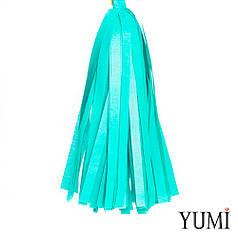 Декор: кисточка тассел бирюзовая (1шт)