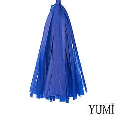 Декор: кисточка тассел темно-синяя (1шт)