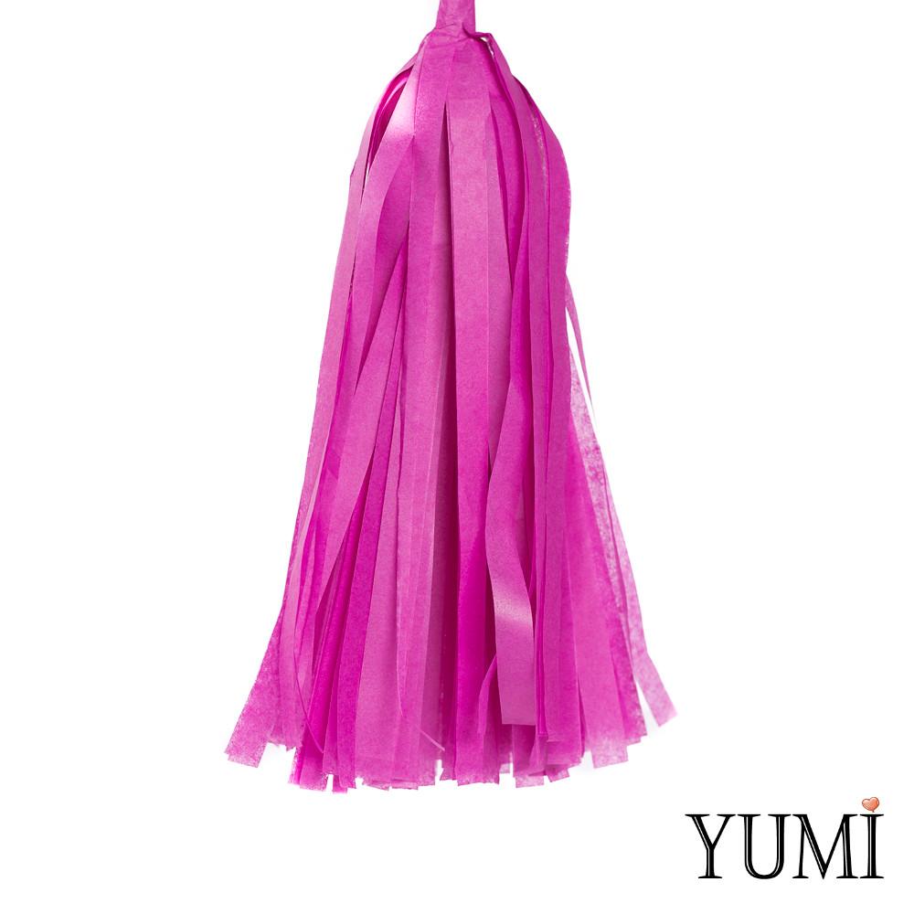 Декор: кисточка тассел сливовая (1шт)