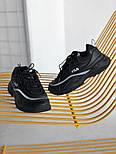 Мужские кроссовки Fila Ray Black. Живое фото (Люкс реплика ААА+), фото 3