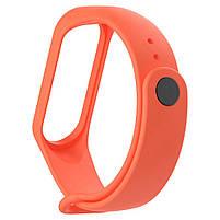 Ремешок для фитнес браслета Xiaomi Mi Band 3 и 4 Orange, фото 2