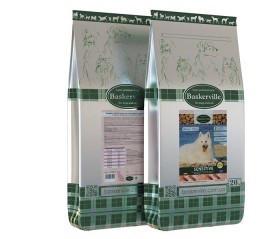 Baskerville Sensitive Adult Dog, корм для собак с чувствительным пищеварением 1.5 кг