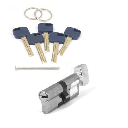 Цилиндр для входной двери Apecs Premier XR-80(35/45С)-C-Ni (3D обзор)