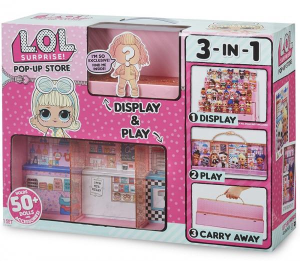 Игровой набор L.O.L. Surprise! Модный подиум 3-в-1, эксклюзивная кукла в комплекте