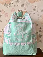 Пляжный тканевый рюкзак Одесса 7 км, фото 1