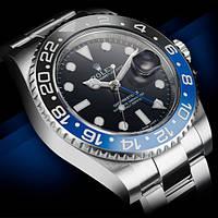 Часы Rolex GMT-Master II Batman мужские копия, фото 1