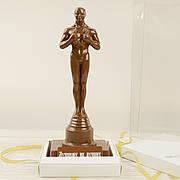"""Шоколадная фигура """"Оскар"""" ЭЛИТНОЕ сырье. Размер: 88х105х272мм, вес 550г"""