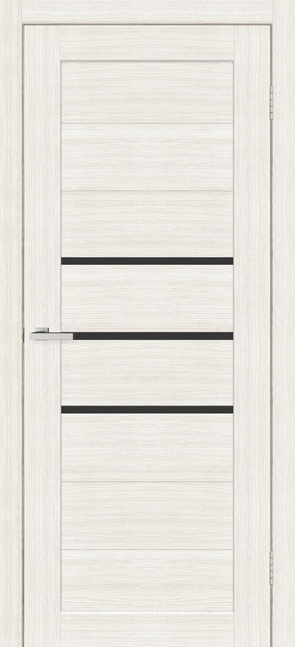 Двери Омис Cortex Deco 06 Дуб Bianco ЧС
