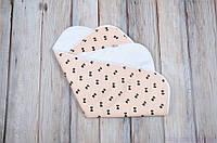 Непромокаемая пеленка (размер 60*80) Бантики, фото 1