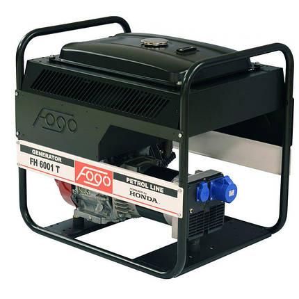 Генератор Fogo FH6001T 1ф-6,3кВт, двиг.Honda, бак-26л, руч.старт, фото 2