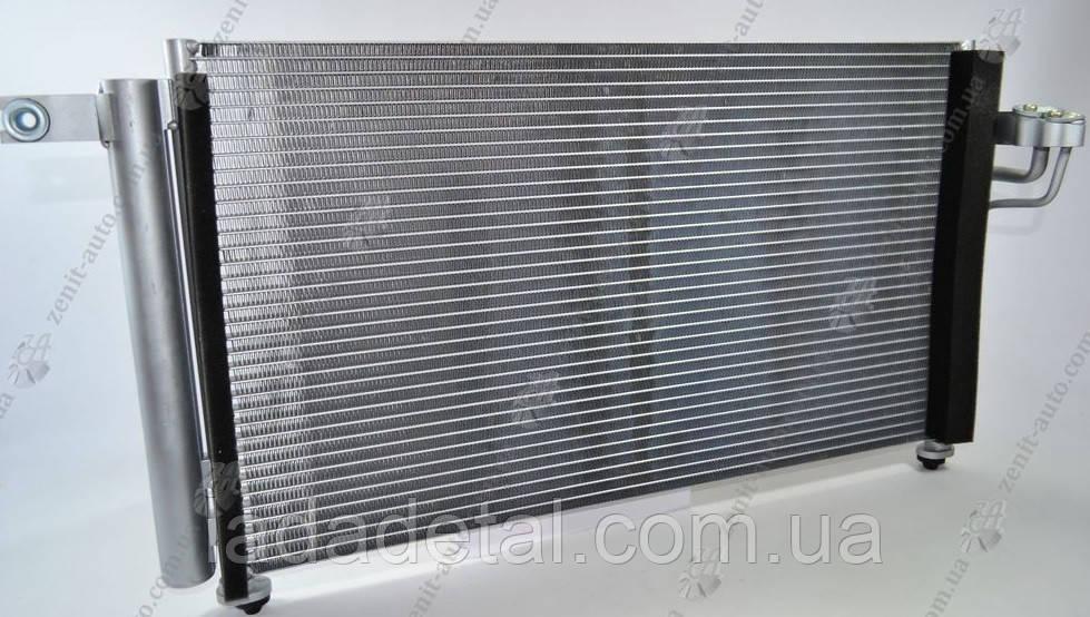 Радиатор кондиционера Киа Рио Kia Rio 1.4/1.6 (05-) АКПП/МКПП (97606-1G000)