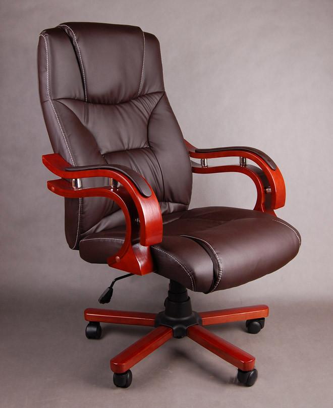 Офисное компютерное кресло PRESIDENT коричневое