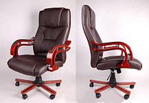 Офисное компютерное кресло PRESIDENT коричневое, фото 2
