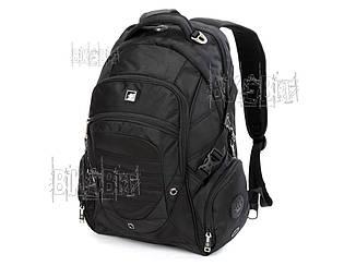 """Рюкзак SwissGear для ноутбука 15"""" Waterproof Цвет: черный"""