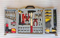 """Набор инструментов """"Бригадир"""" на 173 элемента. Набор ручных инструментов (Подарочный)."""