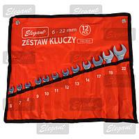 Набор ключей Elegant 12 шт рожково-накидные (8-22) (EL 102 831), ST-27 (ELEGANT)