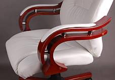 Офисное компютерное кресло PRESIDENT белое, фото 2