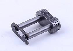 Замок двухрядной цепи P-12.55mm (между пластинами: L-22mm)