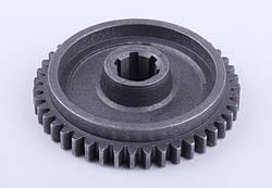 Шестерня вала переходного редуктора Z-43 Ø113mm (под колодку Ø85mm) (12 колесо)