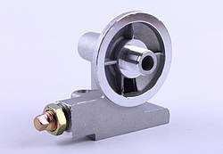 Кронштеин масляного фильтра с клапаном  КМ385ВТ (DongFeng 240/244, Foton 240/244, Jinma 24