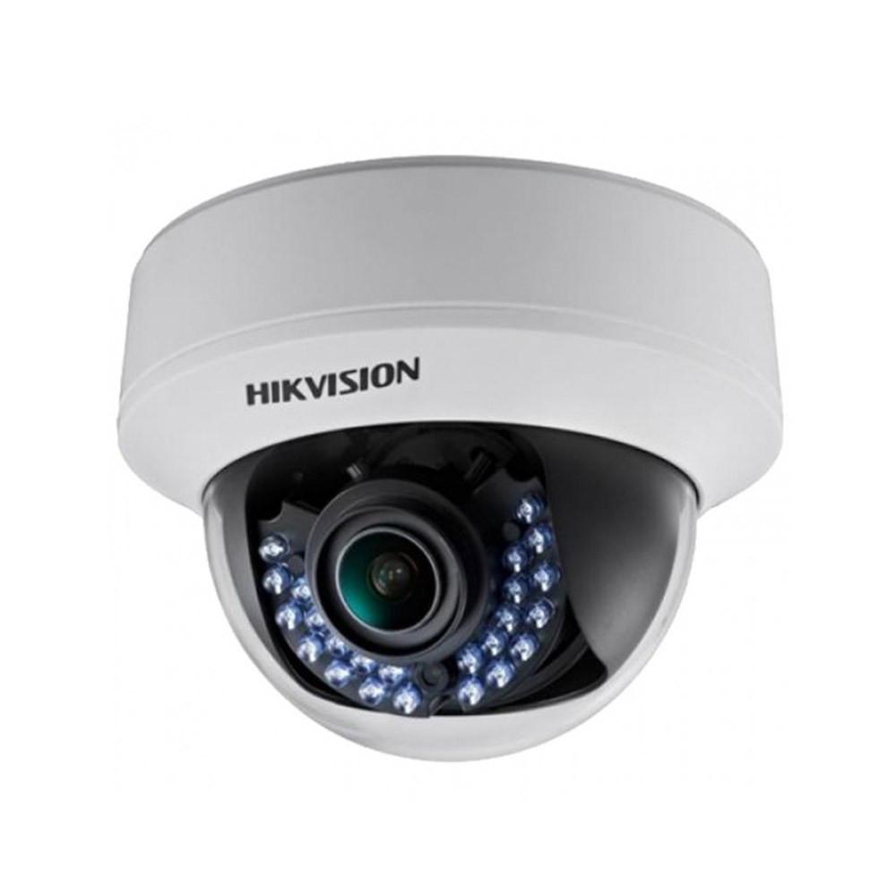 Купольная Turbo HD видеокамера Hikvision DS-2CE56D1T-VPIR3 (2.8-12)