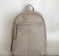 Бежевий жіночий рюкзак міський екокожа Pretty Woman 7км Одеса, фото 1