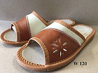 Тапочки женские с открытым  носком, фото 1