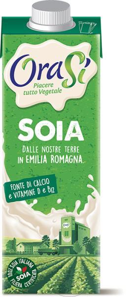 Соевый напиток с витаминами и кальцием OraSi, 1л