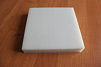 Плита для вырубки, длинна - 20 см, ширина - 20 см, толщина - 4 см, белого цвета, артикул СК 6057, фото 1