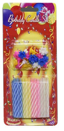 Преимущества свечейдля торта праздничных: