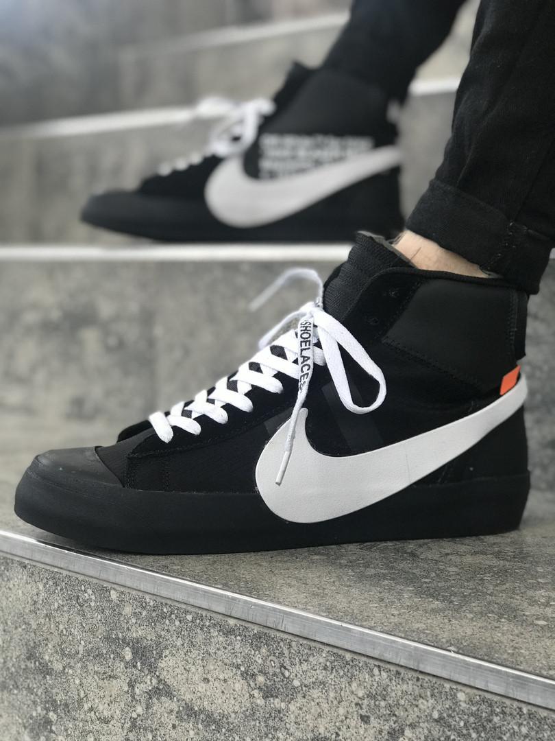 3c0f3831 Мужские кроссовки Nike Blazer Mid OFF-White(ТОП РЕПЛИКА ААА+), цена ...