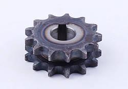 Звезда двухрядная Ø18mm Z-13 (12 колесо)