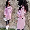 Женское шикарное пальто-кардиган (расцветки)