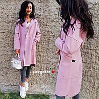 Женское шикарное пальто-кардиган (расцветки), фото 1