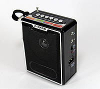 Переносное Радио NS 047, Акустическая колонка, Радиоприемник, Портативная колонка, Мини радио